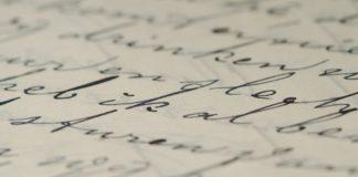 handgeschreven brief